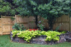 capped-wood-fencing